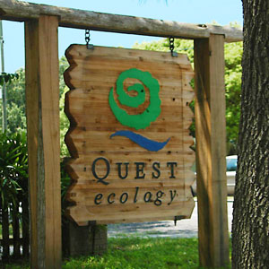 Quest Ecology sign